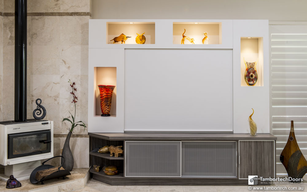 Kitchen Wall Units With Glass Doors