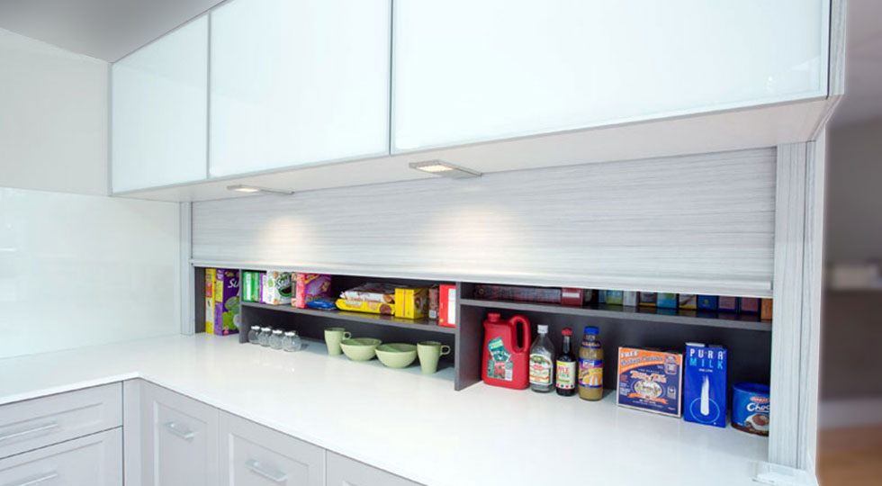 Designer Kitchen Storage
